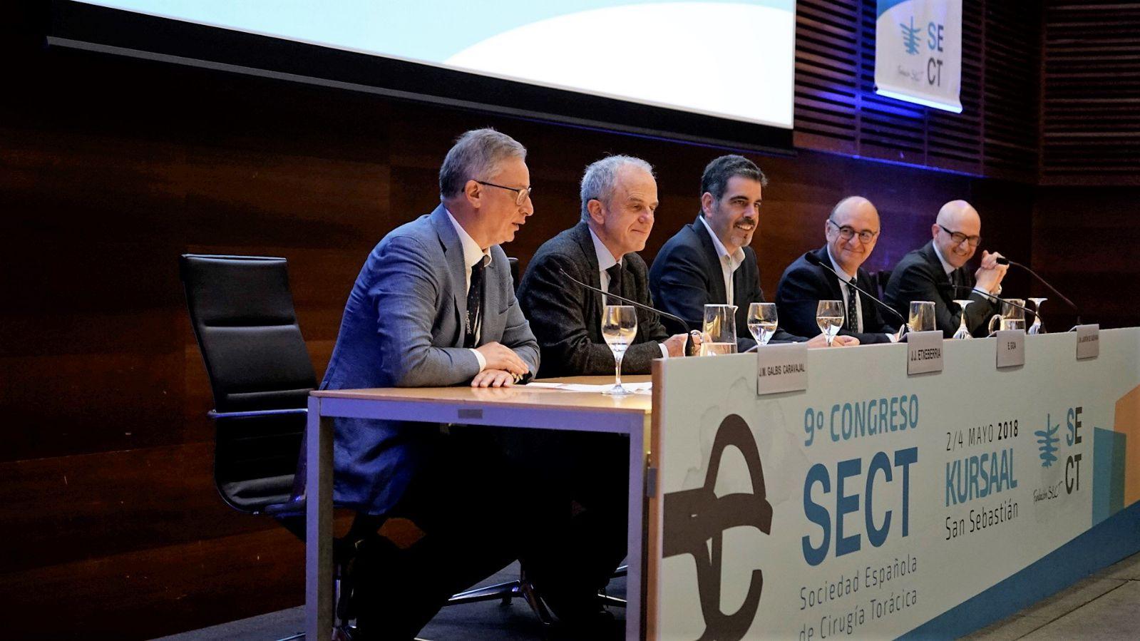 El doctor Galbis ha participado en el 9 congreso de la Sociedad Española de Cirugía Torácica celebrado del 2 al 4 de mayo en San Sebastián
